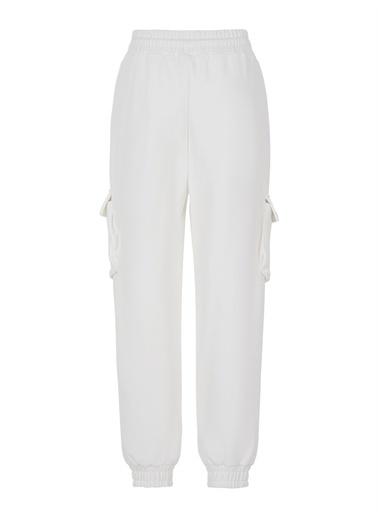 Nocturne Kargo Jogging Pantolon Beyaz
